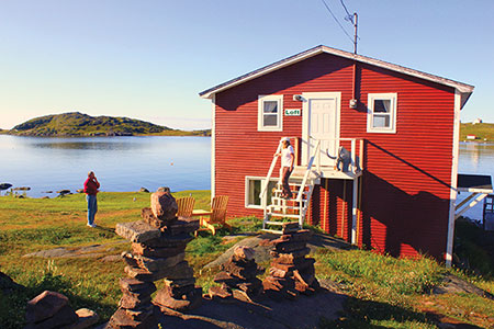 Red Bay, Labrador, the largest remaining example of 16th century Basque whaling operations.