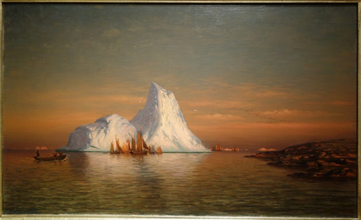 Fishing_Fleet_off_Labrador_by_William_Bradford,_1884,_oil_on_canvas_-_New_Britain_Museum_of_American_Art_-_DSC09258
